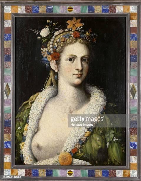 Flora meretrixcirca 1590 Private Collection Artist Arcimboldo Giuseppe