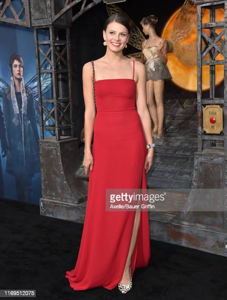 Flora Ogilvy attends the LA Premiere of Amazon's Carnival Row at TCL Chinese Theatre on August 21 2019 in Hollywood California