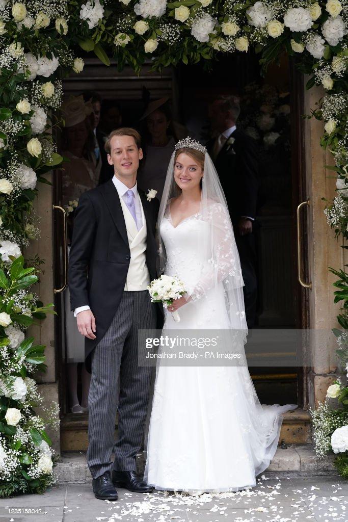 Flora Ogilvy - Timothy Vesterberg wedding- London : News Photo