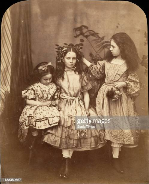 Flora Rankin Irene MacDonald and Mary Josephine MacDonald at Elm Lodge July 1863 Albumen silver print from glass negative 222 x 18 cm Photographs...