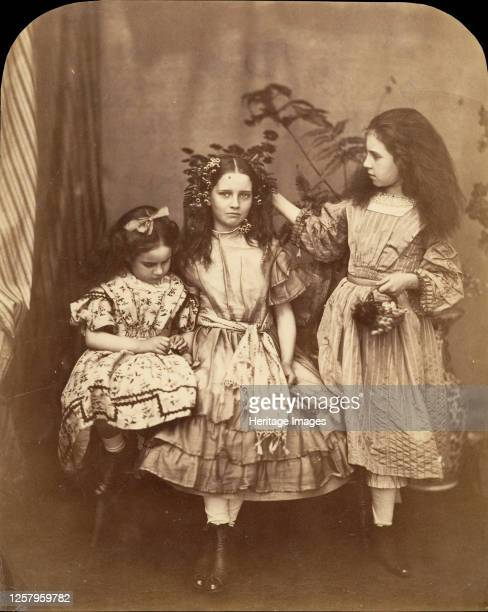 Flora Rankin Irene MacDonald and Mary Josephine MacDonald at Elm Lodge July 1863 Irene and Mary MacDonald were the children of Scottish novelist and...
