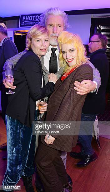 Flora Starkey Aidan Shaw and Pam Hogg attend an exclusive reception for The Fashion World of Jean Paul Gaultier From the Sidewalk to the Catwalk...
