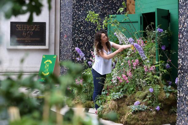 GBR: Launch Of Selfridges Garden Centre - Photocall