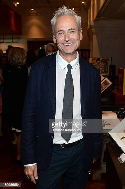 Floral Artist Olivier Giugni attends ASSOULINE Martine and Prosper Assouline host a book signing for Ketty PucciSisti Maisonrouge's The Luxury...