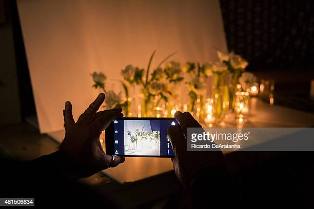 Floral designer Eric Buterbaugh is photographed for Los Angeles Times on February 6 2015 in Beverly Hills California PUBLISHED IMAGE CREDIT MUST READ...