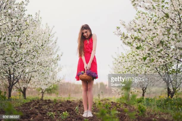 Floral Märchen Mädchen