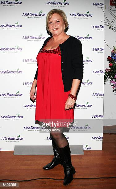 Floral lifestyle expert Julie Mulligan attends An Evening of Romance Rhythm presented by 1800Flowers at Gibson Guitar Showroom on January 14 2009 in...