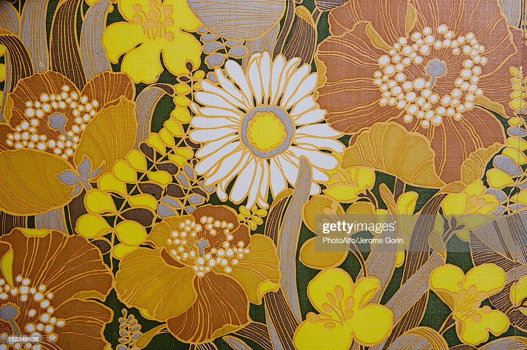 Floral pattern, full frame : ストックフォト