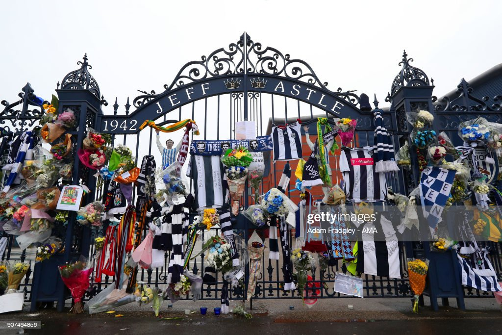 Cyrille Regis Tributes At The Hawthorns