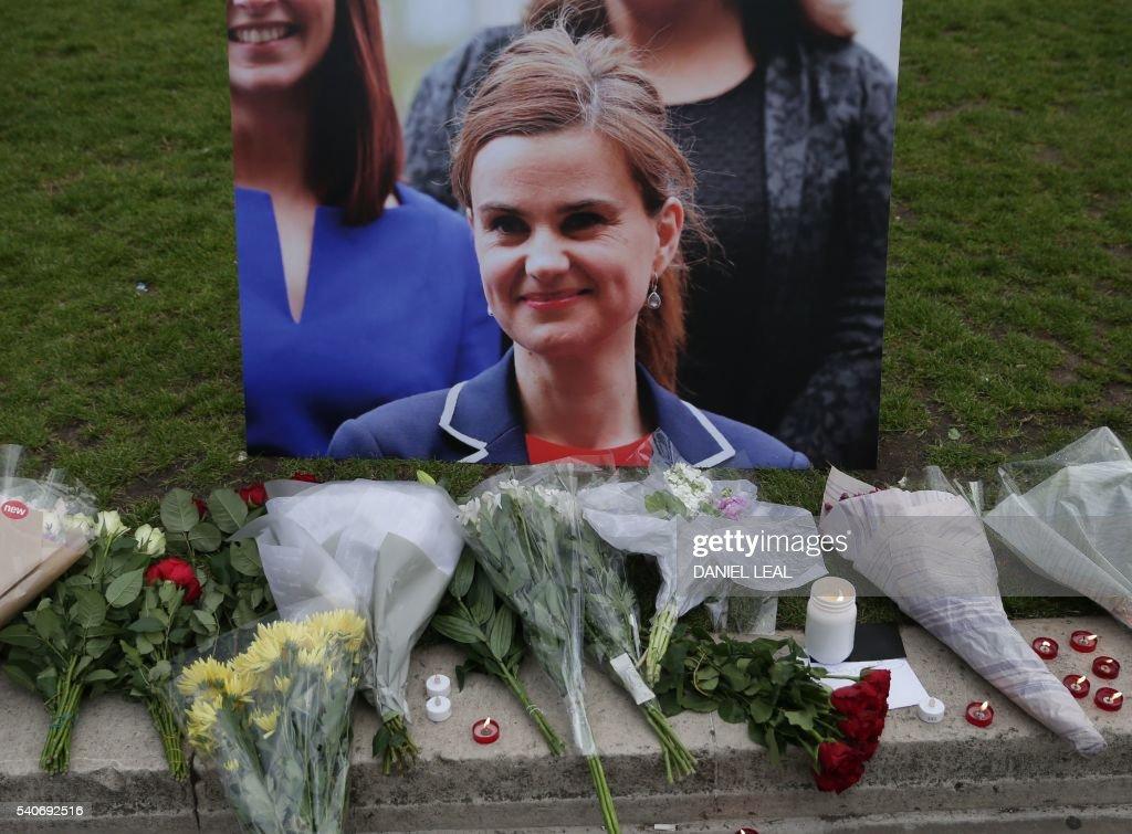 BRITAIN-EU-POLITICS-SHOOTING : News Photo