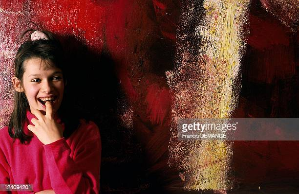 Flore Sigrist painter In France In December 1998 Exclusive