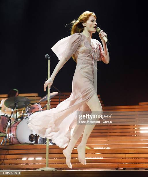 Florence And The Machine perform at Oslo Spektrum on March 12 2019 in Oslo Norway