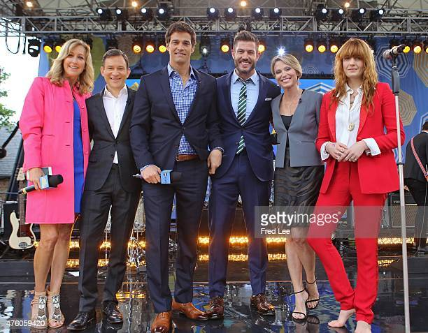 AMERICA Florence and the Machine perform live from Central Park as part of the Summer Concert Series on Good Morning America 6/5/15 airing on the...