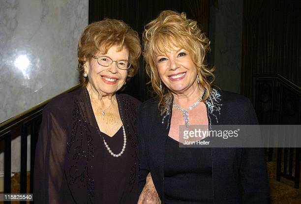Florence Cardona with her daughter Vikki Carr NHMC Lifetime Award Reciipient