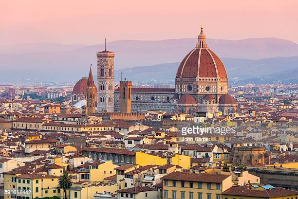 Florence Cathedral at sunset, Florence