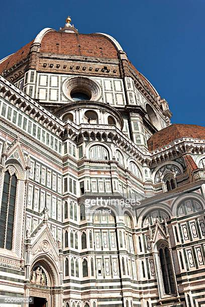 Florence Cathedral Duomo Santa Maria del Fiore with Brunelleschi's dome UNESCO World Heritage Site Florence Tuscany Italy Europe