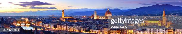 Florence Cityscape Panoramic