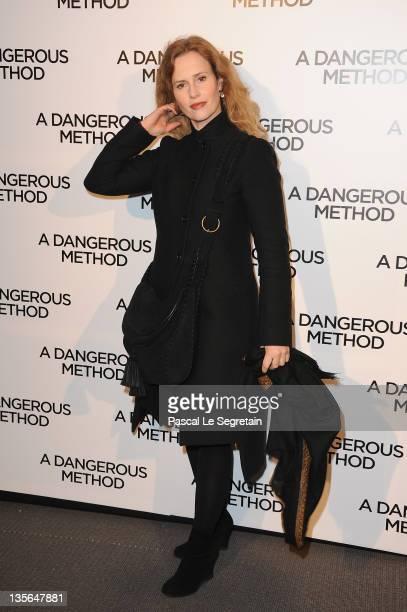 Florence Darel attends 'A Dangerous Method' Premiere at Cinema UGC Normandie on December 12 2011 in Paris France