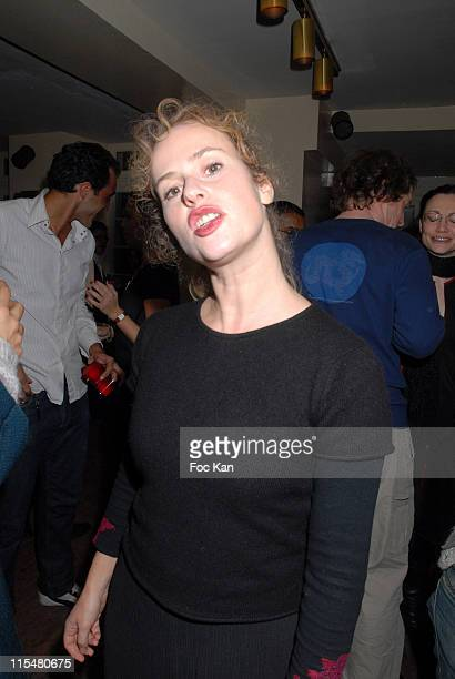 Florence Darel during Fooding 2006 Awards Ceremony Party at Hotel Restaurant Amour in Paris France