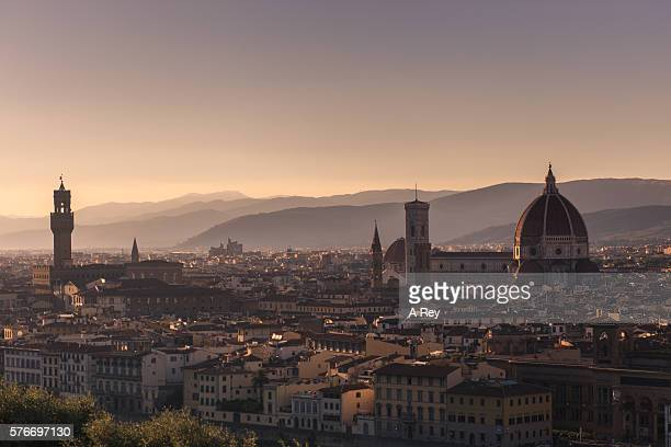 Florence Duomo at sunset