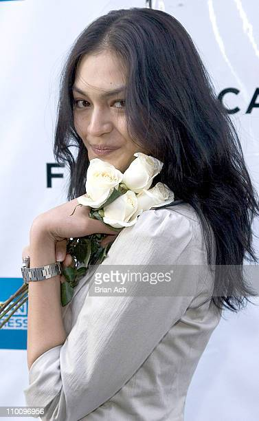 Florence Faivre during 5th Annual Tribeca Film Festival 'The Elephant King' Premiere at AMC Loews 11th St Cinemas in New York New York United States