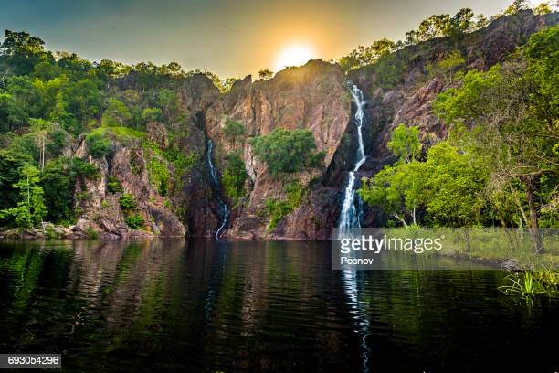 florence falls - northern territory australia stock photos and pictures