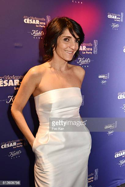 Florence Foresti attends a photocall at the Queen Club after The Cesar Film Awards 2016 on February 26 2016 in ParisFrance