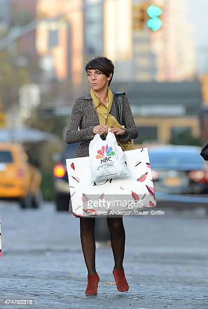 Florence Foresti is seen on November 12 2012 in New York City