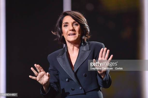 Florence Foresti on stage during the Cesar Film Awards 2020 Ceremony At Salle Pleyel In Paris on February 28 2020 in Paris France