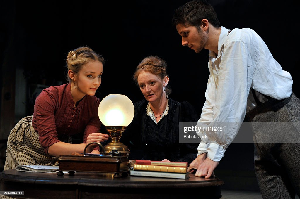 UK - Henrik Ibsen's Ghosts directed by Stephen Unwin at the Rose Theatre Kingston upon Thames. : News Photo