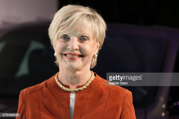 Florence Henderson arrives for the Vanity Fair Campaign Hollywood 'American Hustle' Toast Sponsored By Chrysler Arrivals at Ago Restaurant on...