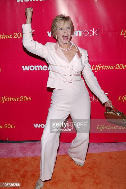 Florence Henderson during 5th Annual WOMENROCK LIFETIME Television's Concert for the Fight Against Breast Cancer at The Wiltern LG in Los Angeles...
