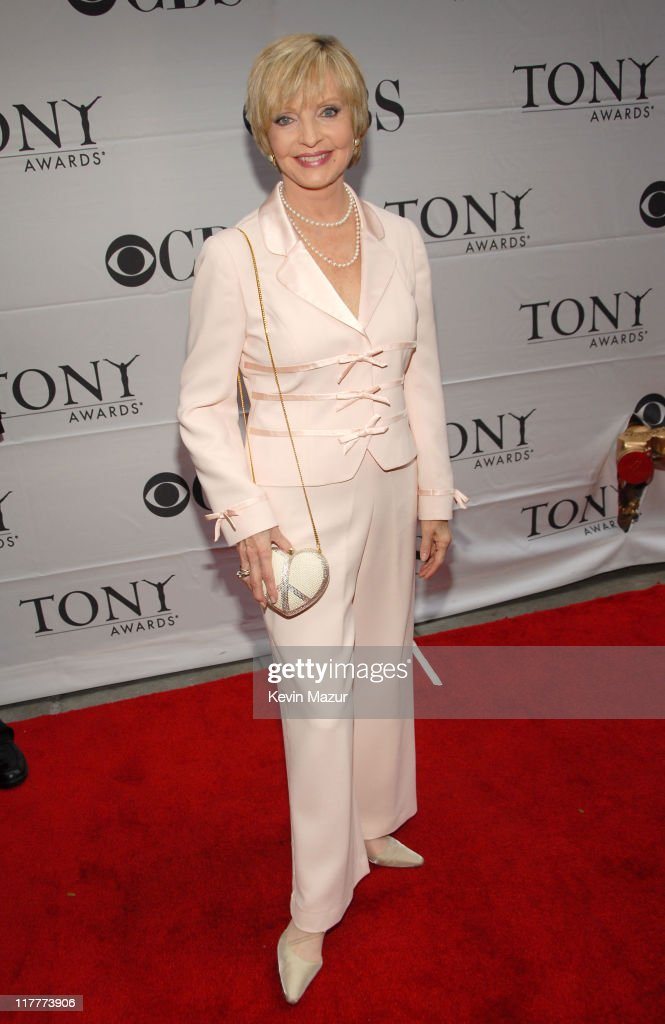 Florence Henderson during 61st Annual Tony Awards - Red Carpet at Radio City Music Hall in New York City, New York, United States.