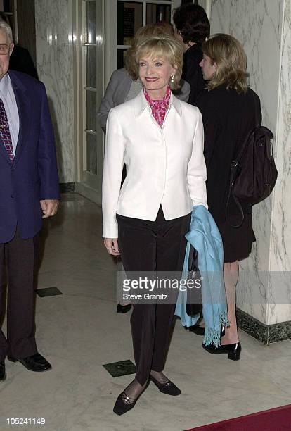 Florence Henderson during A Family Celebration Second Annual Gala at Beverly Wilshire Hotel in Beverly Hills CA United States