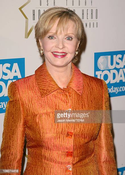 Florence Henderson during USA Today Inaugural Hollywood Hero Award Gala Honoring Zina Bethune at Beverly Hilton Hotel in Beverly Hills California...