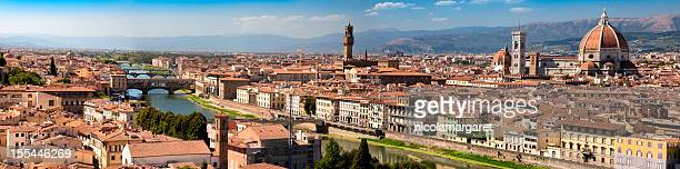 Florence, Italy.  Highly detailed panoramic image.