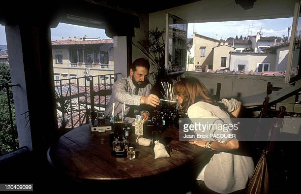 Florence Italy In 1996 The perfumer Lorenzo Villoresi welcomes at home and create unique perfume for his clients