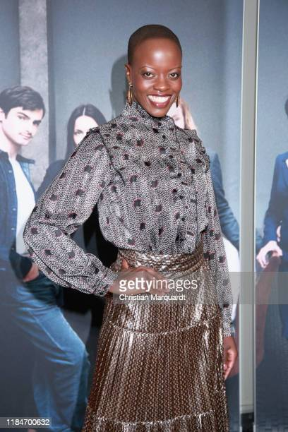 Florence Kasumba attends the premiere of the movie Der Preis der Freiheit at Stasi Zentrale on October 31 2019 in Berlin Germany