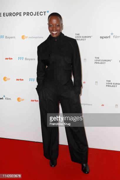 Florence Kasumba during the premiere of The Love Europe Project at Zoo Palast on May 7 2019 in Berlin Germany