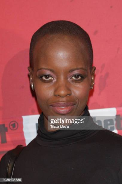 Florence Kasumba during the Tatort premiere 'Das verschwundene Kind' at Astor Film Lounge on January 25 2019 in Hamburg Germany