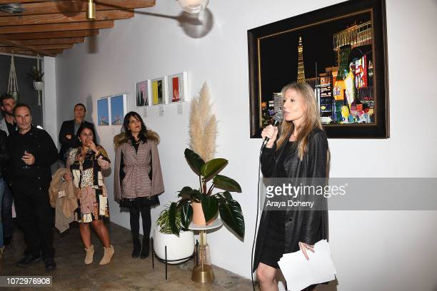 Florence Klein attends the URBAN2020 Fabrice Spies Benefiting STOP Trafficking of People on December 13 2018 in Los Angeles California