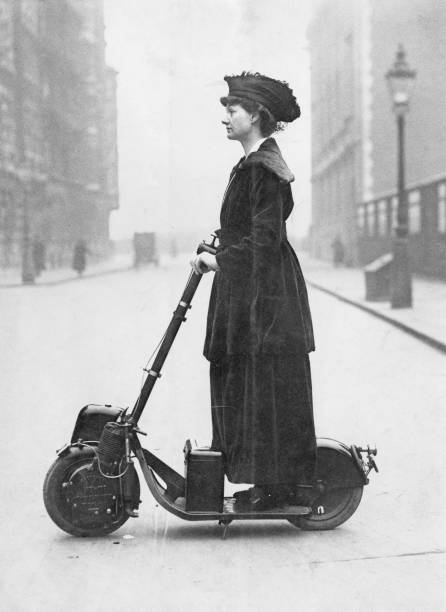 Lady Norman's Scooter