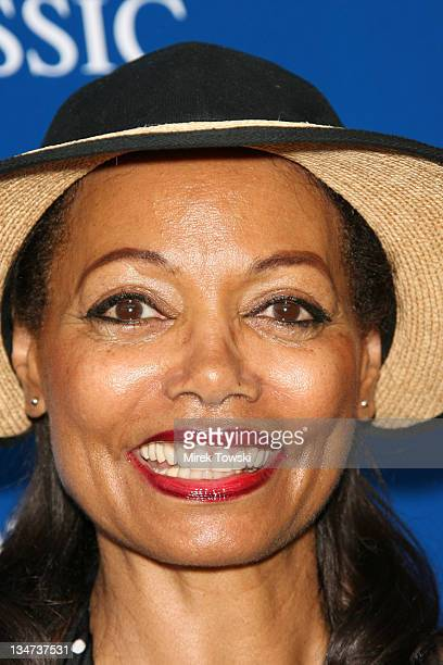 Florence LaRue during Gibson/Baldwin Night at the Net at Los Angeles Tennis Center in Los Angeles CA United States