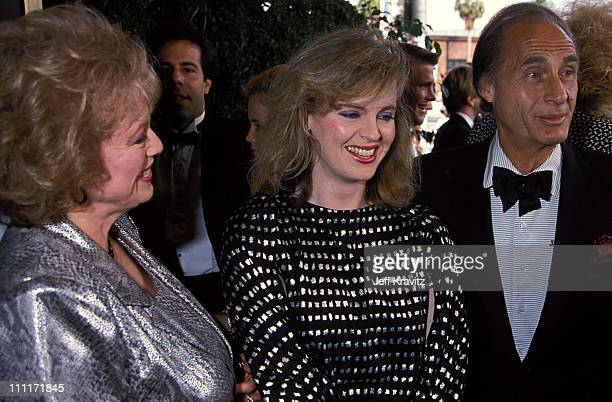 Florence Levy Sid Caesar during 1988 American Comedy Awards in Los Angeles California United States