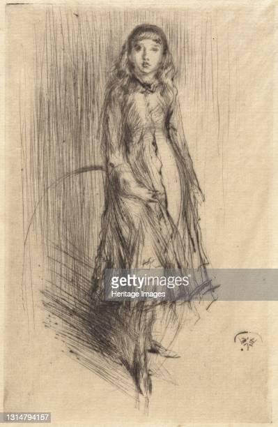 Florence Leyland, c. 1873. Artist James Abbott McNeill Whistler.
