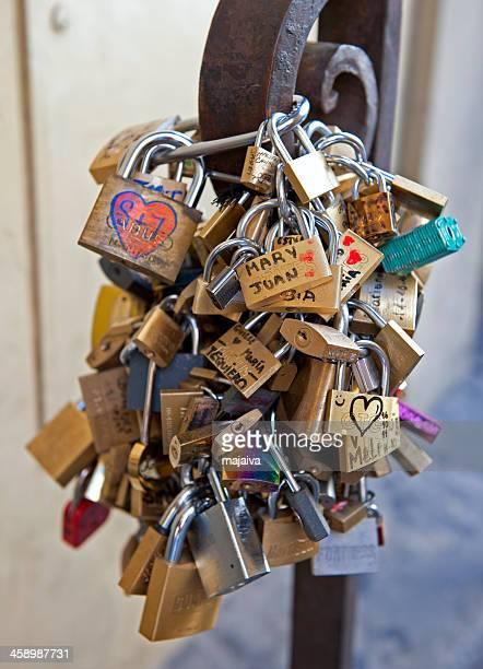 Florence locks of love