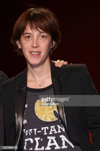 Florence LoiretCaille attends closing ceremony At 10th Film Festival Lumiere on October 21 2018 in Lyon France