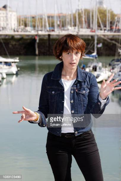 Florence LoiretCaille attends day 3 photocall of 20th Festival of TV Fiction on September 14 2018 in La Rochelle France