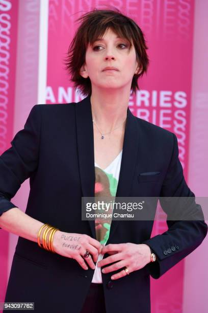 Florence LoiretCaille attends the Launch of the Official Competition and The Truth About The Harry Quebert Affair screening during the 1st Cannes...