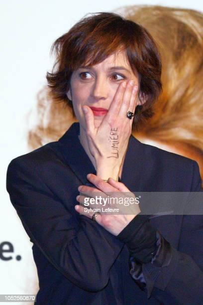 Florence LoiretCaille attends the Prix Lumiere 2018 At 10th Film Festival Lumiere on October 19 2018 in Lyon France